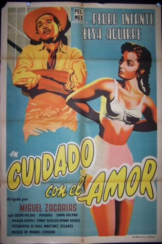 PEDRO INFANTE, Watch Out for Love, 1954,#10321