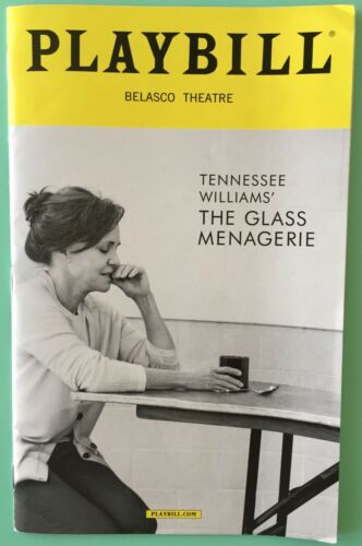 Sally Field Joe Mantello Playbill The Glass Menagerie MadisonFerris FinnWittrock