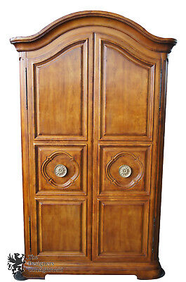 Henredon French Inspired Armoire Mahogany Wardrobe Tv Entertainment Cabinet 90