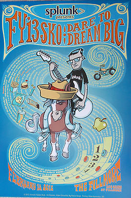 Splunk Fillmore Poster Fy13 Sko Dare To Dream Original Reuben Rude