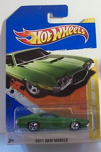 2011  HW  #2   NEW MODELS     1972  FORD GRAN TORINO  SPORT