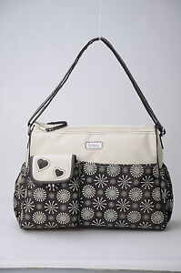Designer bellotte nappy bag 12 pockets changemat at