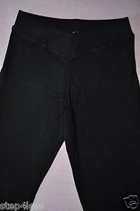 Bal-togs-Adult-sizes-Black-cotton-lycra-V-Front-capri-crop-pants-item-3411