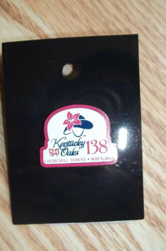 "2012 Kentucky Oaks Official Logo Pin  ****BELIEVE YOU CAN ****""  WINNER"