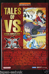 JAPAN-Tales-of-VS-Official-Complete-Guide