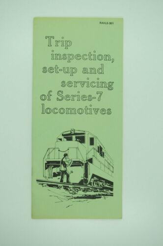 1978 GE General Electric Dash-7 Series Locomotive Service Maintenance Manual