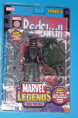 MARVEL LEGENDS RED SKULL SERIES V (5) CHASE RED SKULL HAIL HYDRA MARVEL UNIVERSE