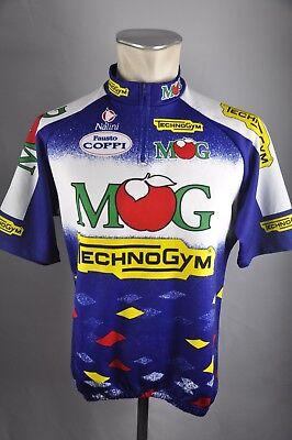 Nalini Team MOG vintage Trikot Gr. XL 90er BW 57cm Bike cycling jersey Shirt  HZ2 888265bda
