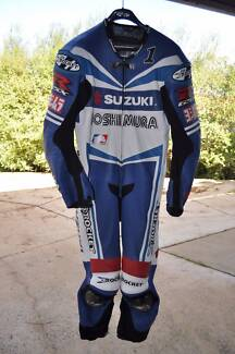 Joe Rocket, Mat Mladin replica leathers Craigmore Playford Area Preview