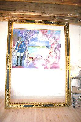 Specchio Cornice mirror trumeau Luigi XVI oro Immagine Barocco N.3