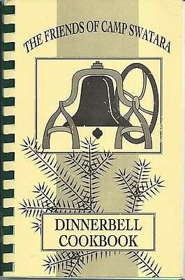 BETHEL PA 1989 FRIENDS OF CAMP SWATARA DINNERBELL COOKBOOK OUTDOOR COOKING +MORE