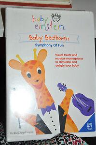 Baby Einstein Baby Beethoven DVD New Symphony of Fun   eBay