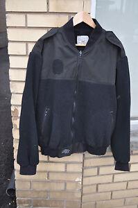 CANADIAN-Navy-Sea-Cadats-FLEECE-Shirt-Coat-Liner-Size-7048-Extra-Large-Black