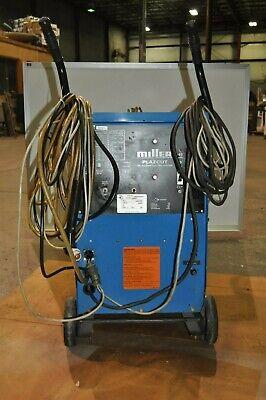 Miller Plazcut Arc Welder Dc Plasma Cutting System With Cart