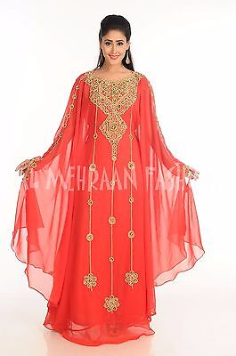 NEW DUBAI MODERN ARABIC KAFTAN AT LOWEST PRICE BY AL MEHRAAN FASHION DRESS 174