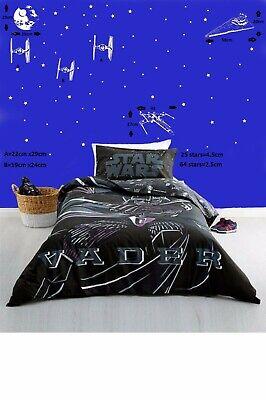 Star Wars SPACECRAFT STARFIGHTERS Wall Art Sticker/Decal/Mural bedroom DESIGN 2