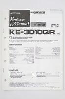 Pioneer Ke-3010qr Originale Ulteriori Manuale Di Servizio/istruzioni/ - pioneer - ebay.it