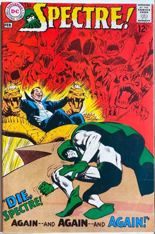 SPECTRE (1968) #2 NEAL ADAMS ART. BEAUTIFUL SILVER AGE COMIC