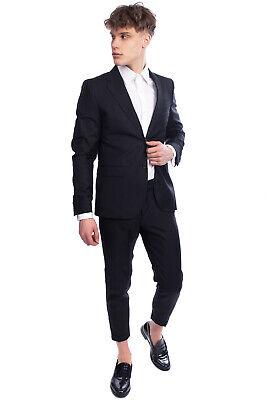 RRP €1100 RICHMOND X Wool Blazer Jacket Size 48 / M Striped Made in Italy