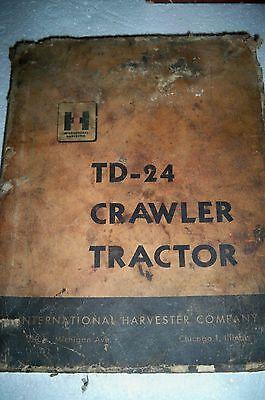 International Harvester Td-24 Crawler Tractor Shop Manual