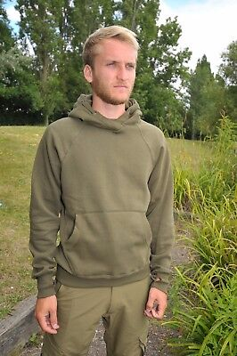 Korda TK Hoodie Hoody Olive Green Carp Fishing Clothing NEW *All Sizes*