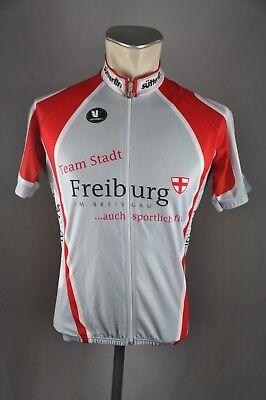 Freiburg Team Stadt Rad Trikot Gr. M BW 52cm cycling jersey Fahrrad L6 e5854c655