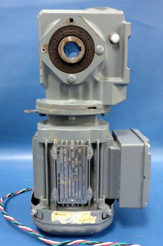 Sew-Eurodrive Electric Drive DRS71S4-5045616 w/ Worm Gear SA37DRS71S4-5045616