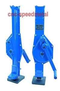 1,5t Stockwinde Stahlwinde Hebewinde Zahnstangenheber  Profile Steel Jack Nu