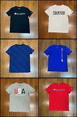 Champion T-Shirts Boys Shirt Multi-Color Size S 7/8, M 10/12, L 14/16, 18/20 New