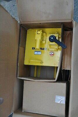 Enerpac P464 Hydraulic Hand Pump 10000 Psi Max Two-speed 4 Way Valve