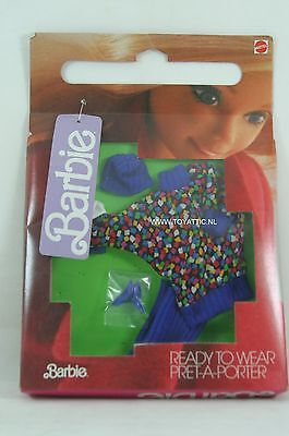 Barbie fashion ready to wear pret-a-porter no. 3298 from 1986 NRFB