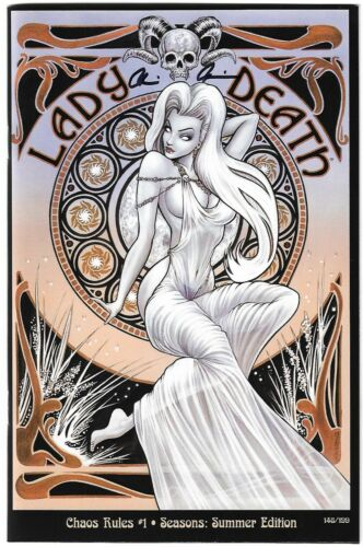 Lady Death Chaos Rules 1. Seasons. Summer Edition. Monte Cover.