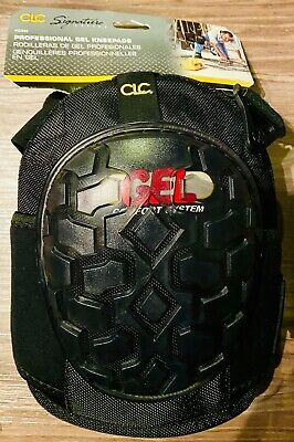 Clc Custom Leather Craft G340 Professional Gel Kneepads One Size Black