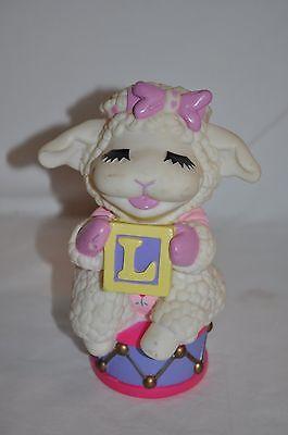 6 75  Tall Pink  Piggy Penny Bank 1993 Shari Lewis Enterprises Lampchop