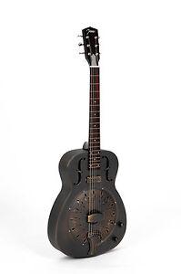 resonator guitar johnson jm 998 e a antic finish pickup rrp 2016 ebay. Black Bedroom Furniture Sets. Home Design Ideas