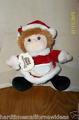 DREAMSICLES ANGEL HUGS PLUSH MRS CLAUS 2000 WITH TAG