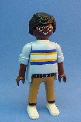 Playmobil FA-7 Ethnic Man Figure Dollhouse Holiday School City Life 9272