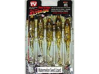 6/'/' Alex Langer/'s Flying Lure Clam Pack 5 lures+1 hook Apple Seed
