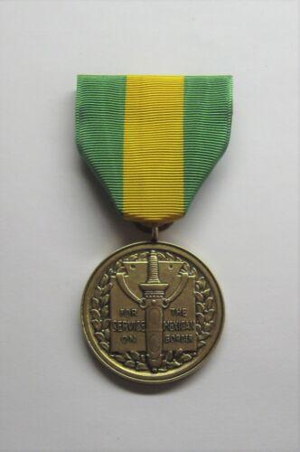 U.S. Mexican Border Service Medal