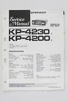 Pioneer Kp-4230 Kp-4200 Original Service Manual/guide/ Wiring Diagram O60 - pioneer - ebay.co.uk