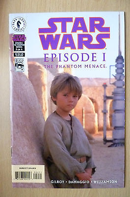 DARK HORSE COMIC- STAR WARS, Episode I, Phantom Menace, Part 2, 1999