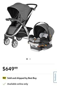 Chicco Bravo Standard Stroller with KeyFit 30 Infant Car Seat