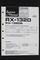 Pioneer Rx-1320/1320s Originale Mangianastri Ricevitore Manuale Di Servizio/ - pioneer - ebay.it
