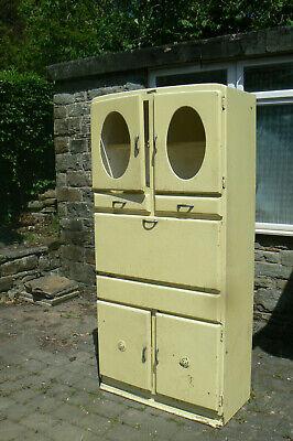 1950s 'Shefco' Retro Vintage Kitchen Dresser Cabinet Unit Larder Pantry Cupboard