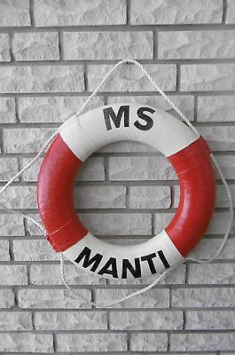"""Schöner Rettungsring """" MS Manti """" 50 cm"""