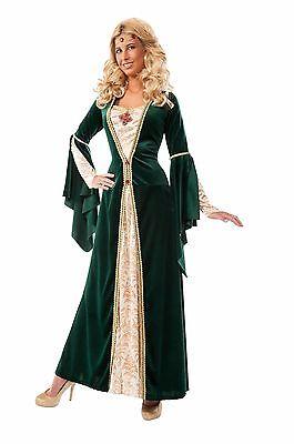 Adult King's Mistress Maid Marian Renaissance Costume - Mistress Maid Costume