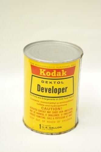 Dektol paper developer to make 1 gallon in can. Sealed