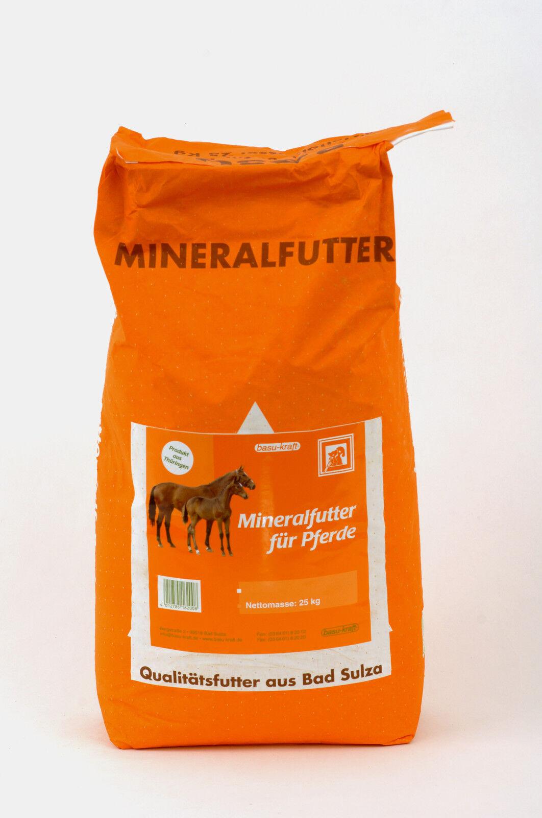 Mineralfutter für Pferde,  25 kg  (Pulver)
