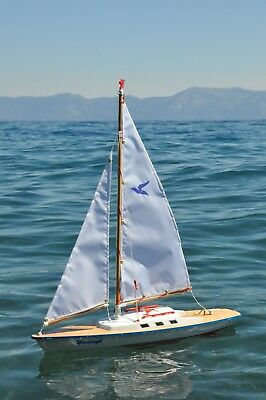 New Gunther Sturmvogel sailboat- Beautiful, functional pond - Pond Sailboat