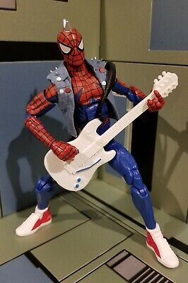 "Marvel Legends - SPIDER PUNK - Spider-man Action Figure Hasbro 6"" - LOOSE"